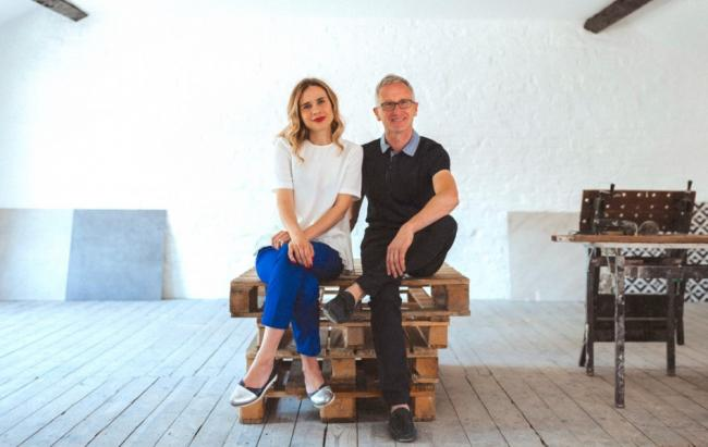 Basil and Dasha McFarland are hoping to open Tile by Tile,a store and design studio, in Altrincham this August