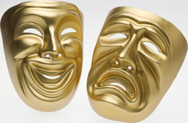 Theater masks.