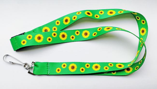 Sunflower lanyards can help make other people aware of a hidden disability. Pic credit: RNIB