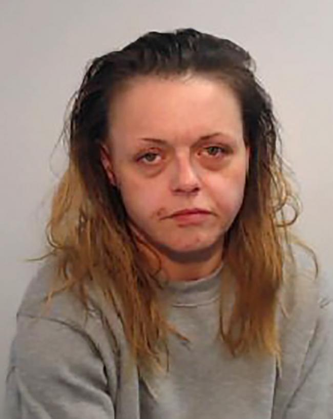 Angela Scott (27/03/1981) is wanted by police