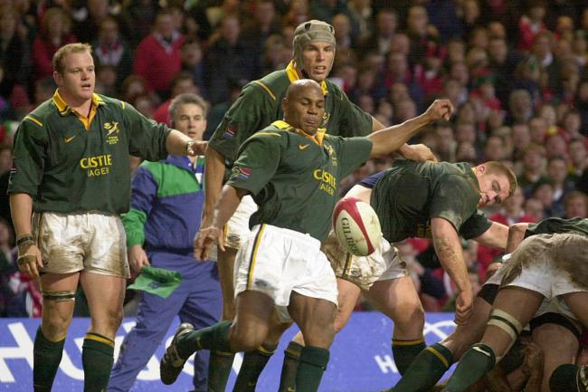 World Cup-winning South Africa wing Chester Williams dies