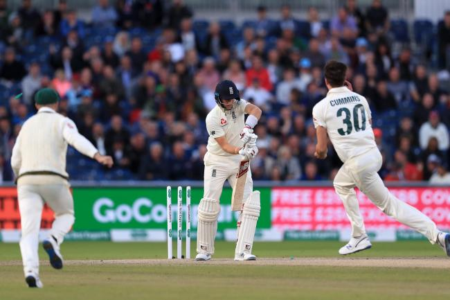 Sorry England's Ashes hopes hanging by a thread as Cummins