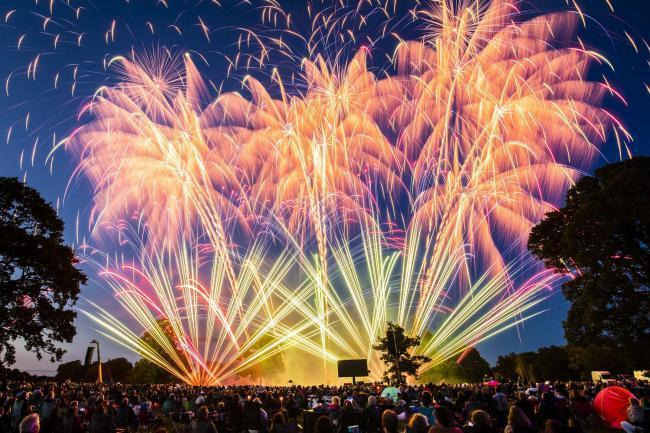 The fire service is urging people to only go to organised firework displays. Picture: PA
