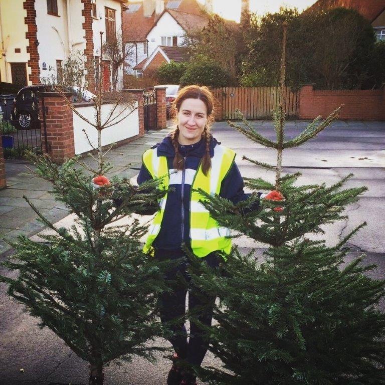 Wirral Hospice St John's Christmas Tree Collection and Recycling