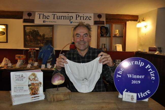 The winner of the Turnip Prize 2019
