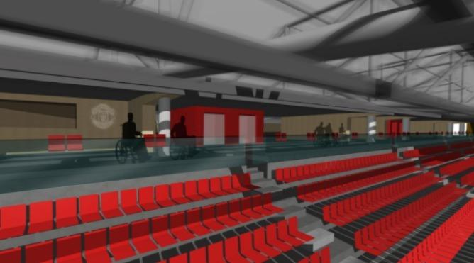 manchester united capacity for disabled seating to double at old trafford messenger newspapers manchester united capacity for