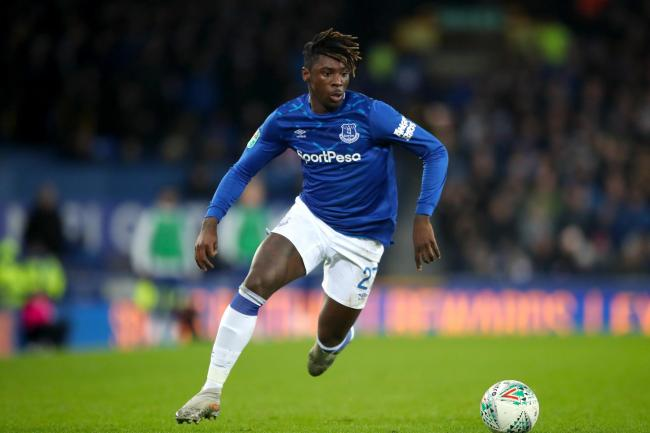 Moise Kean scored his first goal for Everton after his summer move from Juventus