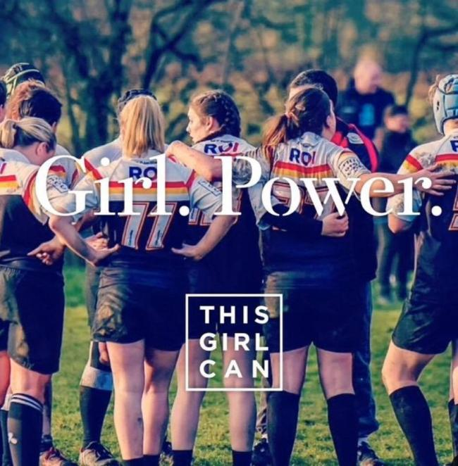 GIRL POWER: Trafford MV are backing the This Girl Can scheme