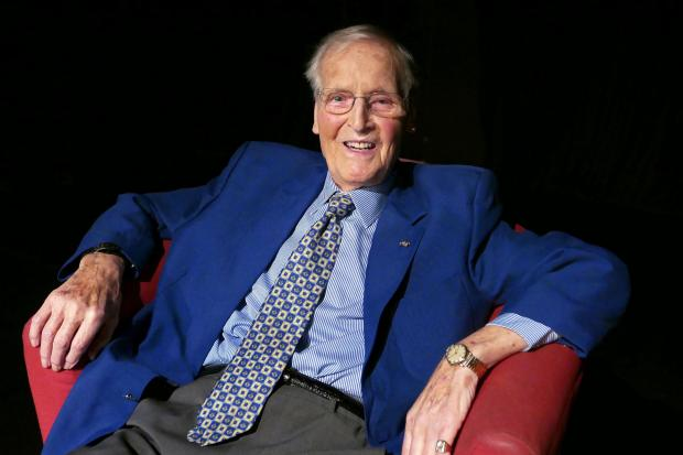 Nicholas Parsons' death was announced today