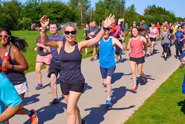 Parkrun's popularity is building year on year