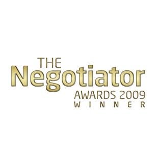 Britain's top Estate Agents honoured at the 2009 Negotiator Awards
