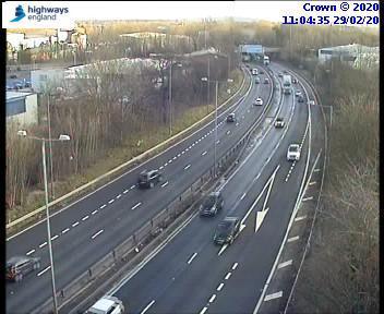 Motorists warned about lane closure on motorway