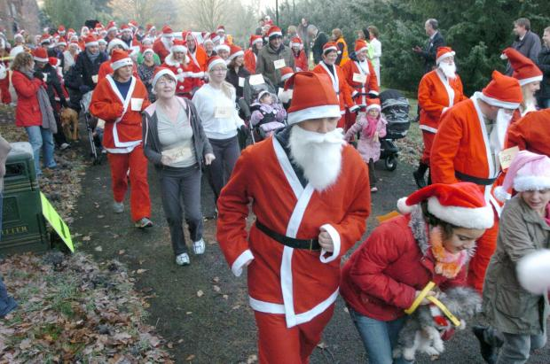 The Santa Dash last year