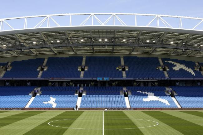 A Brighton player has tested positive for coronavirus