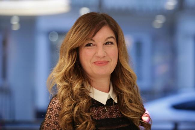 Karren Brady is hoping football will be able to restart as soon as possible