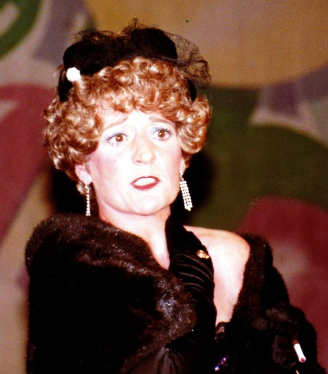Anita Partridge as Miss Adelaide, Guys and Dolls