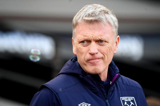 David Moyes' West Ham side are only outside the Premier League relegation zone on goal difference