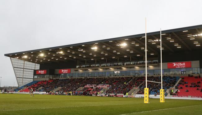 Sale Sharks' AJ Bell Stadium