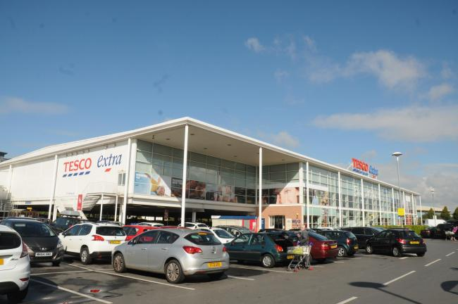The Tesco store in Altrincham