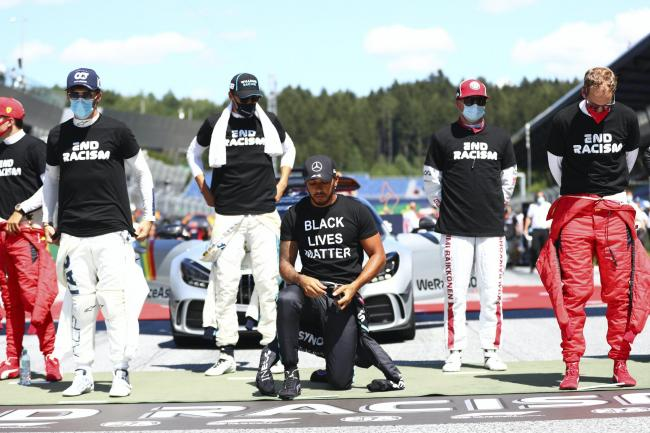 Lewis Hamilton has been given the green light to continue taking a knee