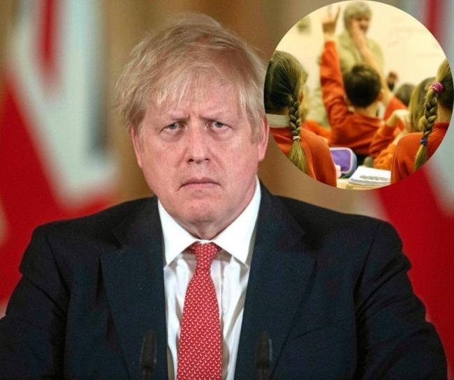 Prime Minister Boris Johnson on getting children back to school