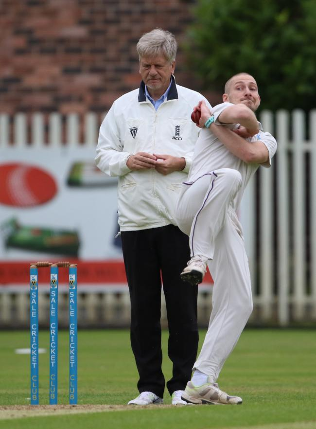 Ben Watkin was leading bowler for Sale 1sts