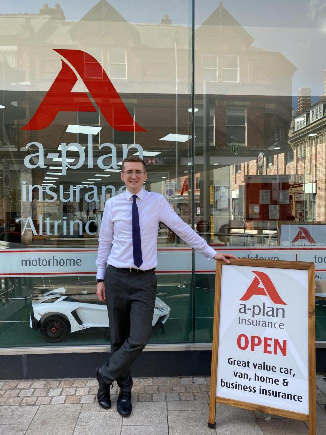 "A-Plan Insurance says ""Hi"" again to the high street"