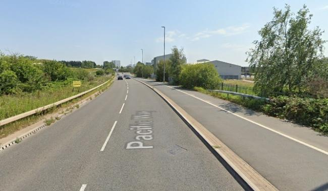Pacific Way in Salford (Picture: Google Maps)