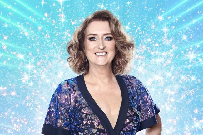 Jacqui Smith on Strictly Come Dancing