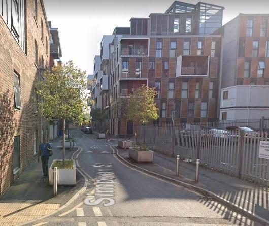 Simpson Street in Manchester (Picture: Google Maps)