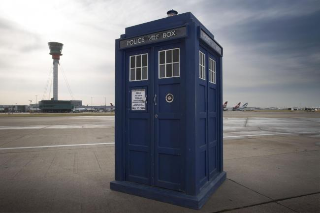 ICONIC: The Tardis will be landing at eight locations across Wales to celebrate 50 years of Doctor Who....PICTURE: BBC Pictures.