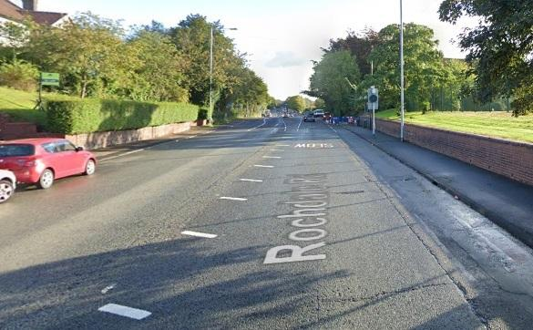 Rochdale Road in Middleton (Picture: Google Maps)