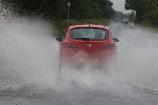Police declare 'major incident' over Storm Christoph