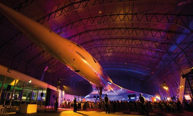 You can enjoy the sounds of an inconic soundtrack under the wings of a Concorde (Photo: Feverup)