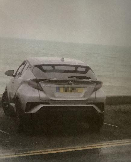 Messenger Newspapers: Martin was sent a photo of his car when he received the £100 fine