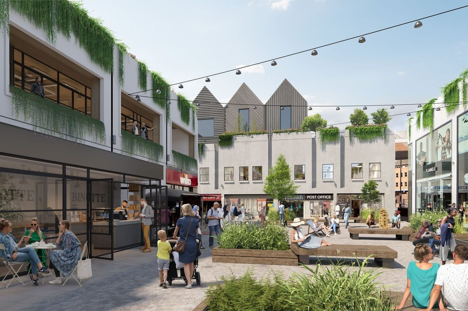 The new plans for Altrincham town centre