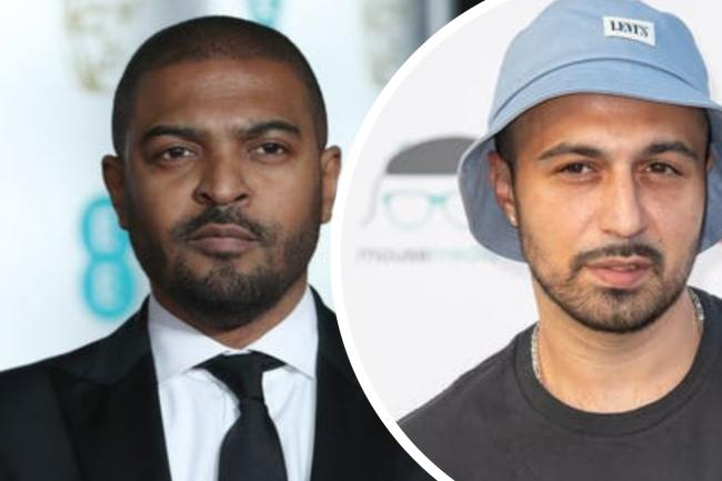 Adam Deacon brands Noel Clarke a 'sociopath' in statement following allegations. (PA/Canva)