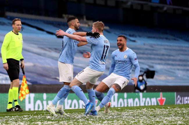 Manchester City are through to the Champions League final for the first time