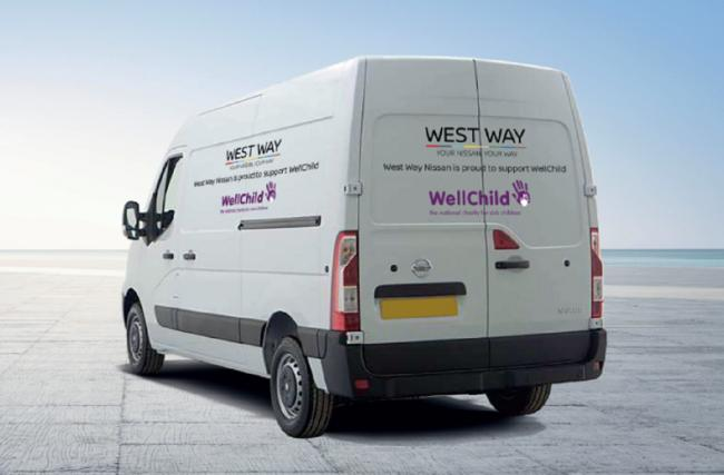 West Way Nissan teams up with children's charity WellChild