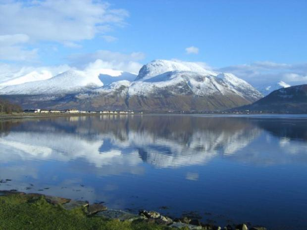 Ben Nevis is the tallest of the three peaks, standing at 1,344 metres - more than 4,400 feet.