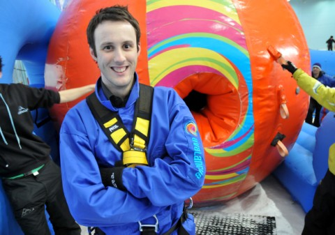 VIDEO:Messenger reporter one of first in the world to try new Chill Factore ride