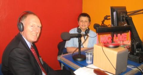 It's good to talk - MP Paul Goggins and Nick Brown in the studio.