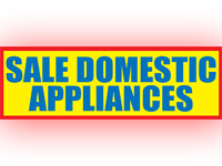 Sale Domestic Appliances
