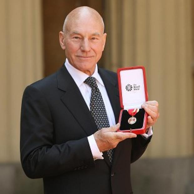 Sir Patrick Stewart is afraid of acting out fight scenes on stage