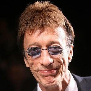 Robin Gibb was too ill to attend a concert with his son