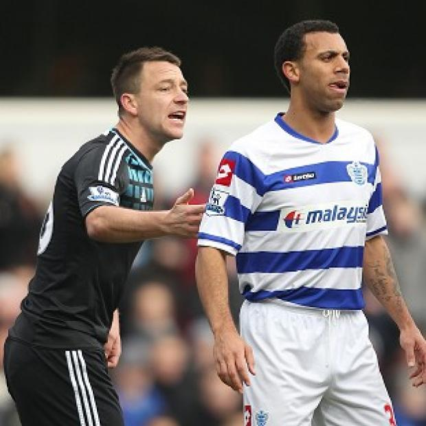 Anton Ferdinand (right) and John Terry