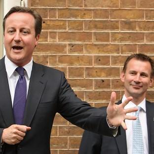 David Cameron said he had seen no evidence that Jeremy Hunt had breached the ministerial code