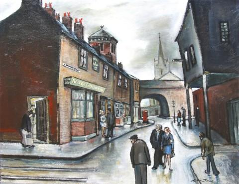 Landmark Corrie painting set for new home