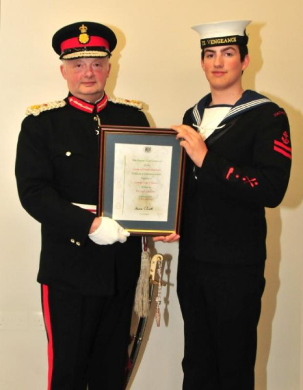 Top sea cadet