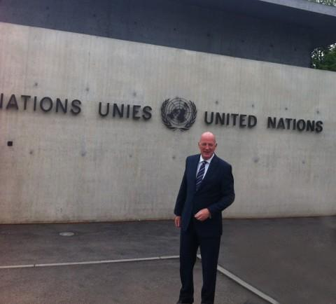 Trafford Housing Trust's chief executive addresses the UN